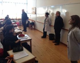 Visita P. Leonardo Nardín sj - Delegado de Educación de los Colegios de RAUCI