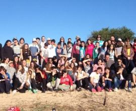 Campamento 1º año en Punta Espinillo
