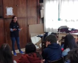 Visita jóvenes Proyecto SHOA