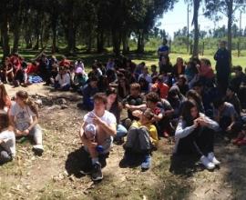 Campamento en Punta Espinillo