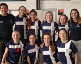 Equipo de básquetbol femenino campeón de los Juegos Deportivos Nacionales